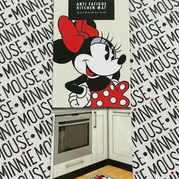 Disney Kitchen Nwtdisneyminnie Mouseantifatigue Kitchen Mat Poshmark